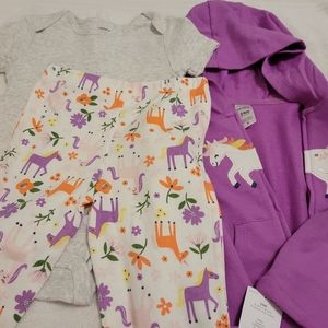 3 pc. Baby Girls Outfit